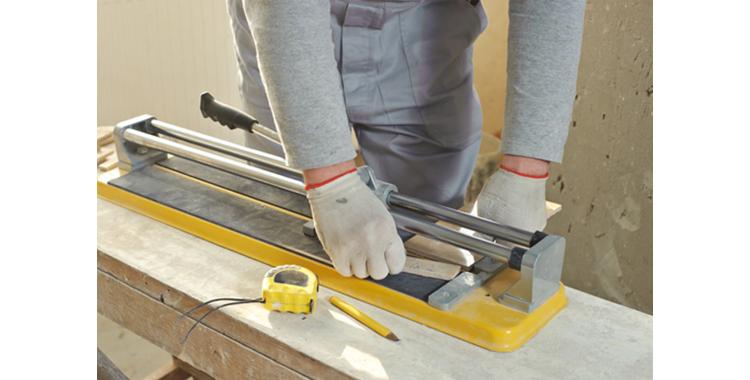 Ceramic tile cutting service